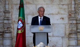 Portugal: presidente Marcelo Rebelo de Sousa da positivo por coronavirus