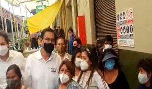 Martín Vizcarra recorrió las calles de Arequipa burlando los protocolos sanitarios