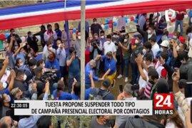 Por Covid-19: Fernando Tuesta propone suspender todo tipo de campaña presencial electoral