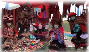 ¡Juntos por la reactivación económica! Realizan I feria de emprendedores del Valle Sagrado en Cusco