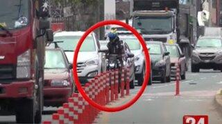Imprudencia de motociclistas por delivery ocasionan más accidentes de tránsito