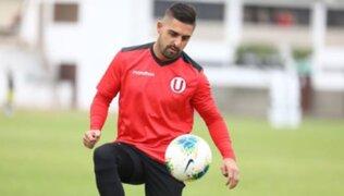 Luis Urruti: Universitario renueva contrato con atacante para esta temporada