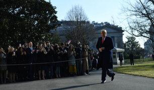 """Trump califica de """"absolutamente ridículo"""" apertura de un nuevo juicio político en su contra"""