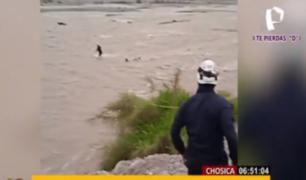Tres personas mueren tras ser arrastradas por el río Rímac