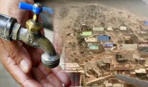 """Vecinos viven sin agua en AA. HH. """"Horacio Zeballos"""" en  el Rímac"""