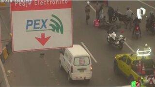 Línea Amarilla: motociclistas protagonizan mayoría de accidentes en la vía