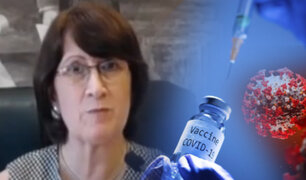 """Mazzetti: """"laboratorios no podrán comercializar vacunas contra el COVID-19 este año"""""""