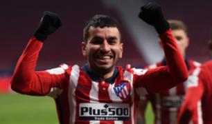 LaLiga: Atlético Madrid venció 2-0 al Sevilla y sigue firme en la punta