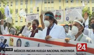 Jesús María: médicos acatan primer día de huelga indefinida en medio de la pandemia