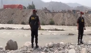 Sereno de Chosica sigue desaparecido tras lanzarse al río Rímac para rescatar a personas