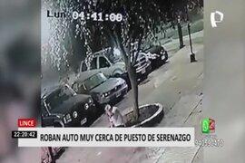 Lince: hombre sufre el robo de su automóvil en la puerta de su casa