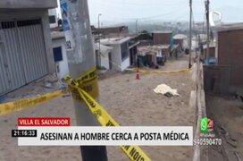 VES: Hombre fue asesinado a balazos cerca a posta médica