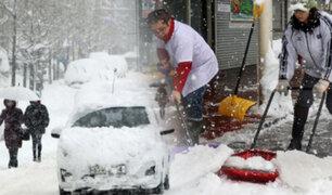 Intensa tormenta invernal deja al menos 8 muertos en Japón