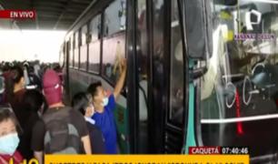 Segunda ola: conductores y pasajeros se olvidan de la COVID-19 en Caquetá