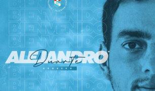 "Duarte tras firmar con Cristal: ""A trabajar duro para representar al club como se merece"""