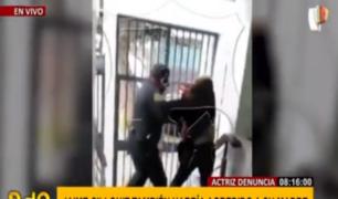 El violento episodio de agresión a su madre del sujeto que retuvo a la actriz Danna Ben Haim