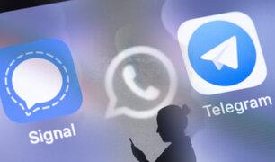 """""""Signal"""" y """"Telegram"""" aprovechan la crisis de Whatsapp para ganar usuarios"""