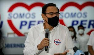 Elecciones 2021: Declaran infundada tacha contra candidatura al Congreso de Martín Vizcarra