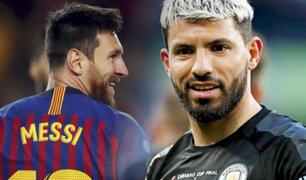 """Barcelona quiere al """"Kun"""" Agüero, para que Messi se quede"""