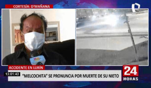 Melcochita tras muerte de su nieto: Para mi es imposible que haya muerto, me siento muy triste