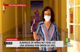 Magdalena: reconectan servicio a albergue de niñas que no tenía luz desde hace una semana