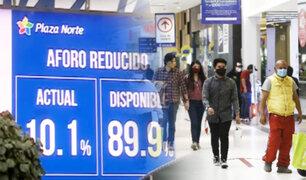 Ya se aplican nuevas medidas en centros comerciales ante la llegada de la segunda ola