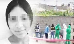 Arequipa: menor desaparecida es hallada muerta en pozo