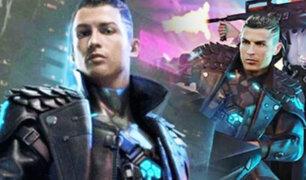 CR7 aparece en el famoso videojuego FreeFire