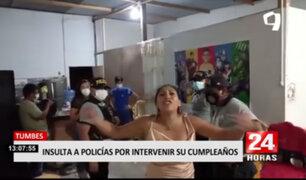 Tumbes: PNP intervino fiesta y matrimonio durante toque de queda
