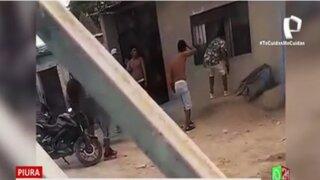 Piura: Sicario desata balacera y provoca pánico entre vecinos