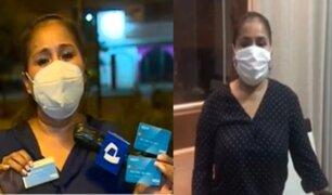 Empresaria que perdió S/ 28 000 de cuenta bancaria recuperó su dinero tras denuncia de Panamericana TV