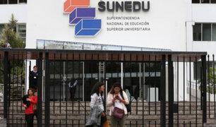 Sunedu anuncia que tras seis años culminó el proceso de licenciamiento de universidades