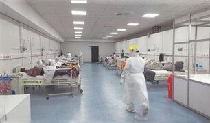 COVID-19: más del 50% de pacientes UCI en tres hospitales de Lima tiene entre 35 y 55 años