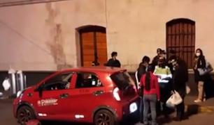 Arequipa: detienen a 11 conductores en estado de ebriedad que burlaron el toque de queda