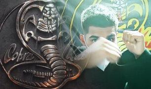 "Conozca al ""Cobra Kai"" peruano"