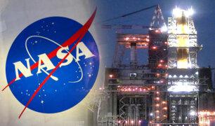 NASA: falla prueba vital de cohete para regresar a la Luna