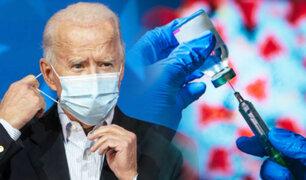 Joe Biden se propone vacunar a 100 millones contra el COVID-19 en 100 días