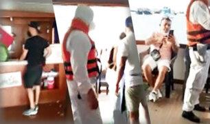Más de 20 personas participaban de fiesta en yate en plena emergencia sanitaria