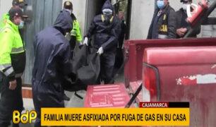 Cajamarca: tres integrantes de una familia mueren asfixiados por presunta fuga de gas