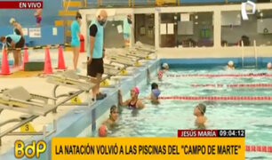 Jesús María: piscina olímpica del Campo de Marte abre sus puertas al público