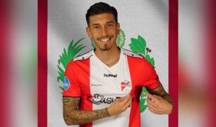 Jean Pierre Rhyner es el nuevo jugador del FC Emmen y jugará junto a Peña y Araujo