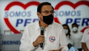 Martín Vizcarra asegura que no renunciará a su candidatura al Congreso con Somos Perú