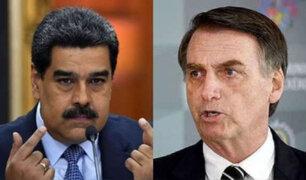 Maduro envía oxígeno a Brasil en medio de otra ola del covid-19 y Bolsonaro le responde