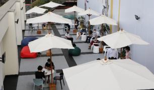 Biblioteca Nacional del Perú pone a disposición del público nueva sala de estudio al aire libre