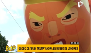 'Baby Trump' se mudará al Museo de Londres