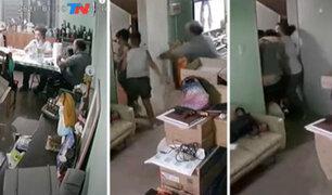 VIDEO: conmovedora escena de familia argentina que se abrazó para protegerse de terremoto