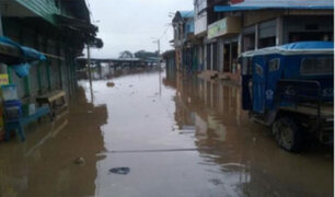 Madre de Dios: río se desborda por intensas lluvias e inunda 50 viviendas