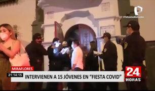 Miraflores: vecinos denuncian que continuas 'fiestas COVID' se realizaban en hospedaje
