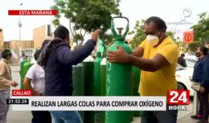 Callao: el 'Ángel del Oxígeno' descartó subida del precio ante retorno de largas colas
