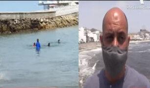 Alcalde de Punta Hermosa pide al Gobierno 'uso de playa exclusivo' para sus vecinos